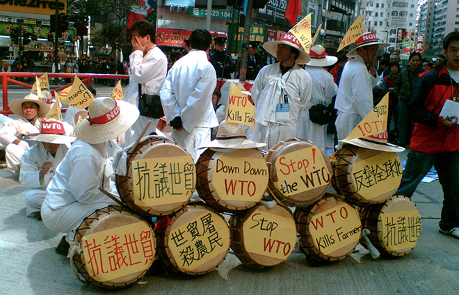 WTO protests